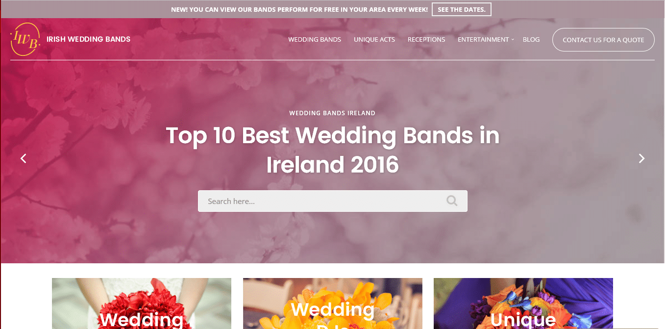 The Best New Website for Finding Wedding Bands in Ireland