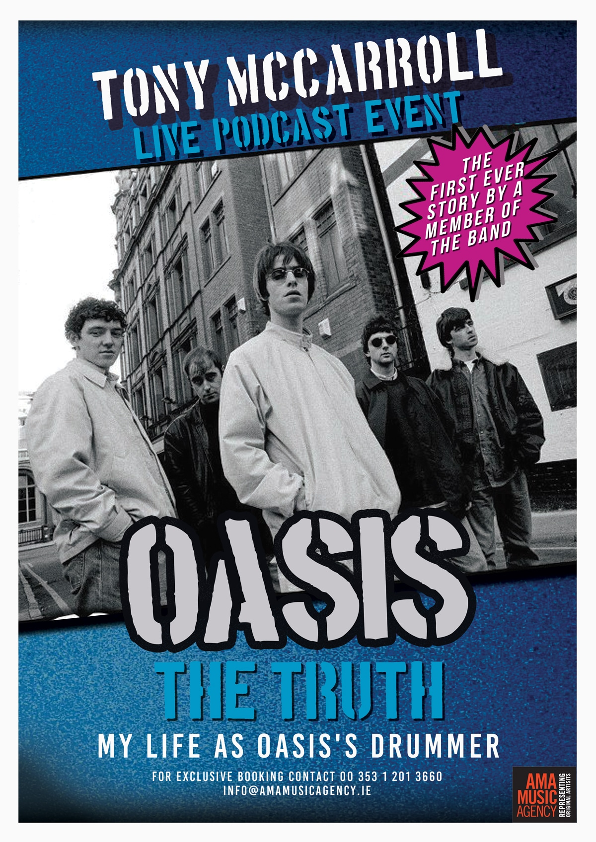 Tony McCarroll – Oasis: The Truth Live Podcast