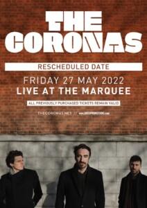 Coronas Live booking Agents AMA Music Agency Ltd